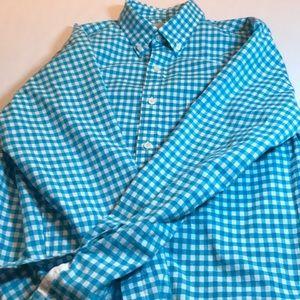 J Crew men's check shirt size medium